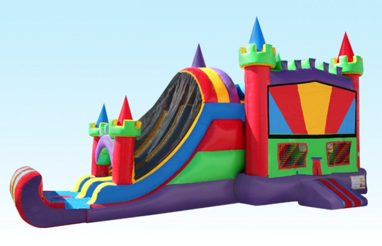 C314 0 714076088 big 4 in 1 Multi Color Castle Combo 25Wx15L